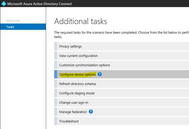 Enable Hybrid Azure AD Join – Office 365 – Learn Tech Future